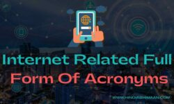 Internet Related Full Forms of Acronyms