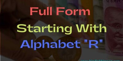 Full Form Starting with Alphabet R
