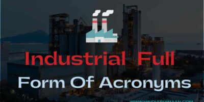 Industrial Full Forms of Acronyms