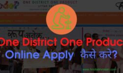One District One Product Scheme Online Apply