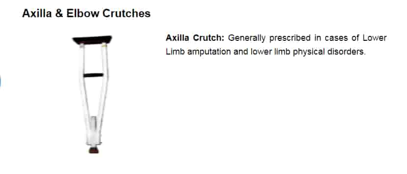 Axilla-&-Elbow-Crutches